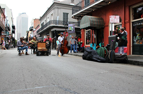 The Slick Skillet Serenaders in New Orleans by @janemaynard