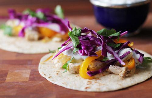Tandoori Tacos by @janemaynard