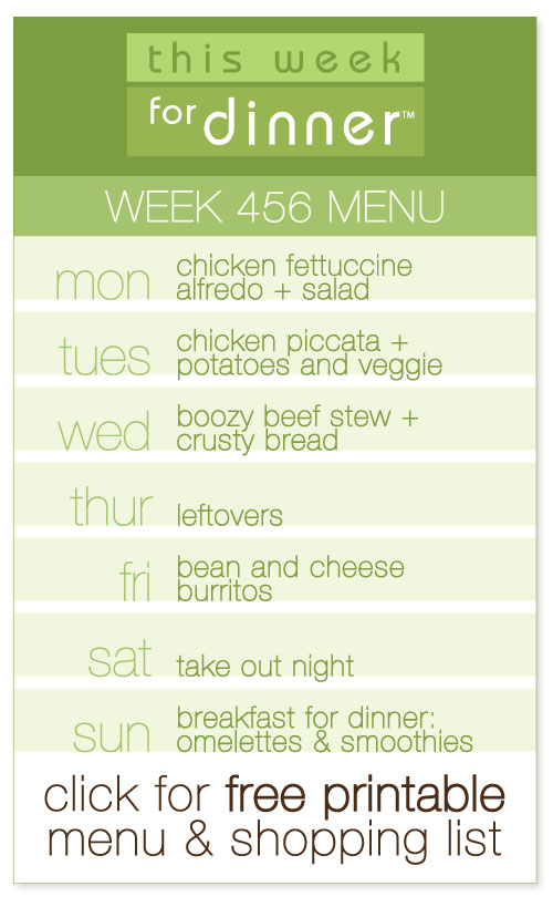 week  456 weekly menu from @janemaynard including FREE printable meal plan and shopping list!