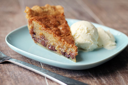 chocolate chip pie from @janemaynard