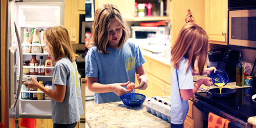 recipes kids should know how to cook before leaving home: omelets