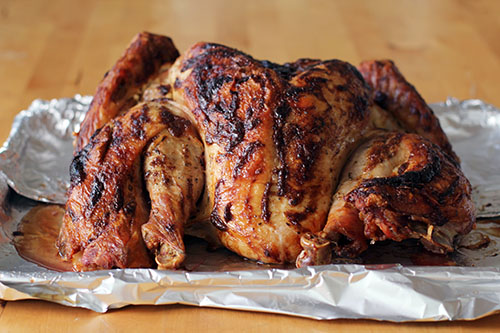 how to perfectly roast a turkey by @janemaynard | spatchcock + dry brine + roast with mayo