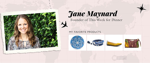 To the Market Tastemaker: Jane Maynard