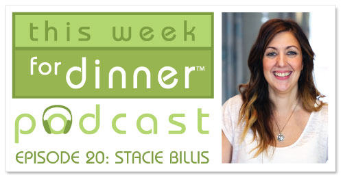This Week for Dinner Podcast #20: Parenting-and-Food Blogger Stacie Billis