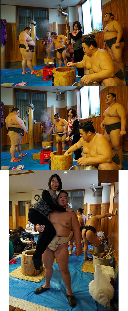This Week for Dinner Podcast #24: Ann Miura-Ko makes mochi with sumo wrestlers in Japan