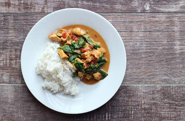 Curry in a Hurry recipe from @janemaynard