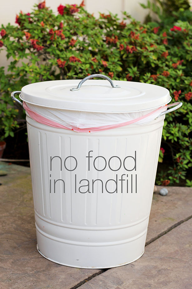 10 Simple Kitchen Tips for Protecting Mother Earth | No Food in Landfill from @janemaynard