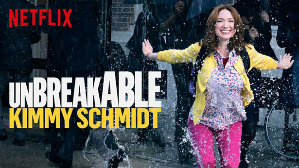 Netflix Unbreakable Kimmy Schmidt is Back 4/15/16!
