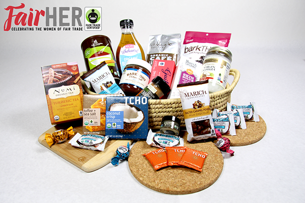 FairHer Giveaway, a collection of awesome Fair Trade Certified Goodies from @janemaynard