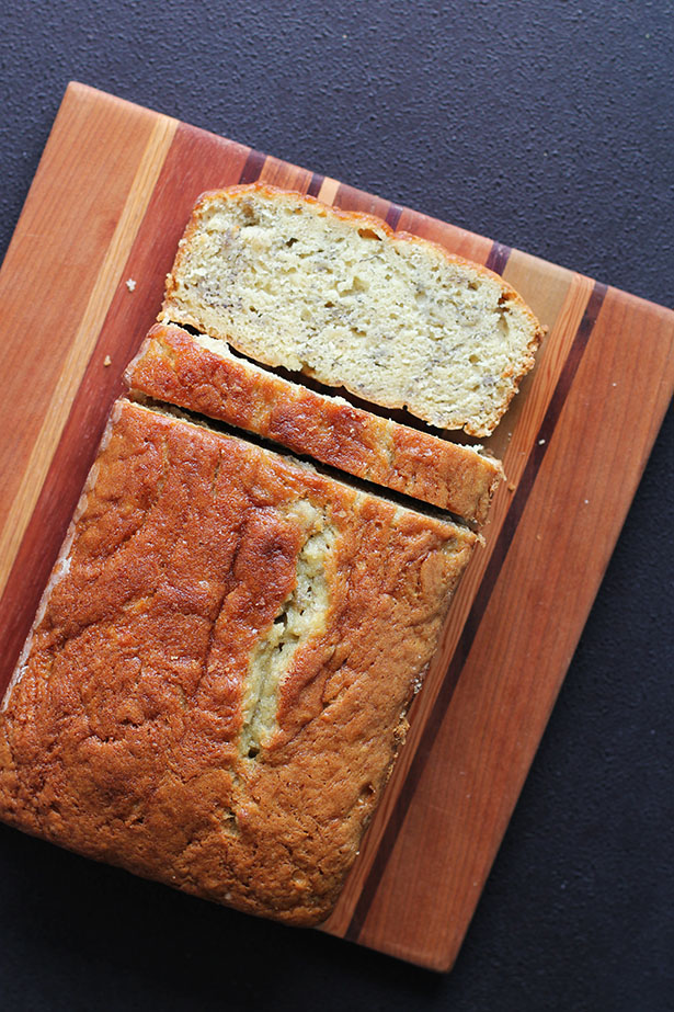 Cora's Sour Cream Banana Bread Recipe from @janemaynard