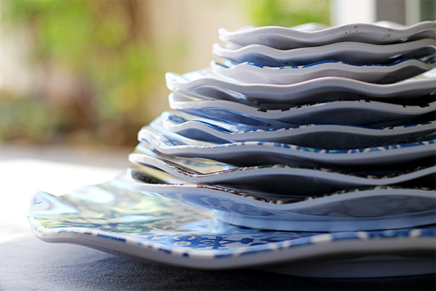 Q Squared NYC Melamine Dishes - Perfect for Entertaining! | from @janemaynard