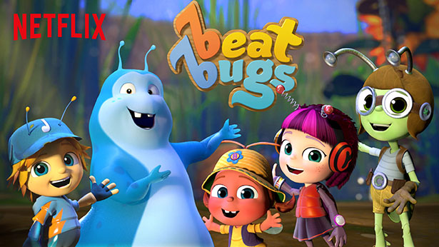 Beat Bugs on Netflix - new kids show featuring Beatles music. From @janemaynard (artwork courtesy of Netflix)