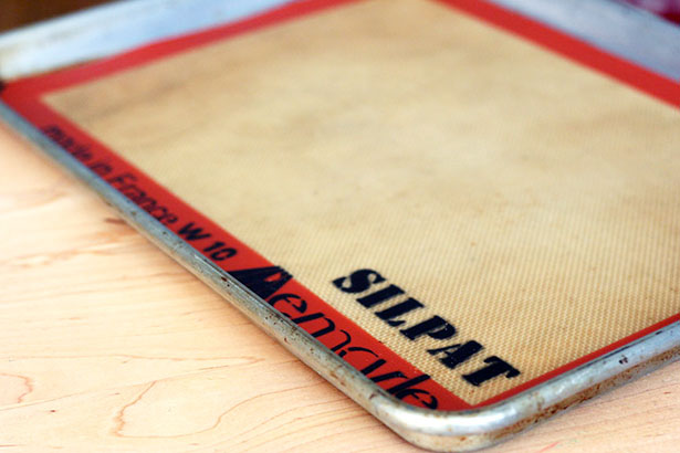 silpat half-sheet baking mat, a must have for any home baker! from @janemaynard