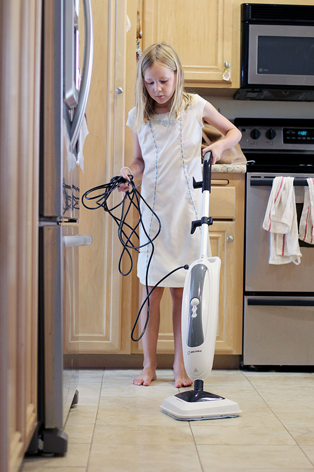 Reliable's Steamboy 200CU Steam Floor Mop is my new favorite, we use it all the time! from @janemaynard