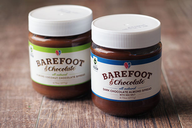 My New Favorite Chocolate Spread: Fair Trade Certified Company Barefoot & Chocolates | from @janemaynard