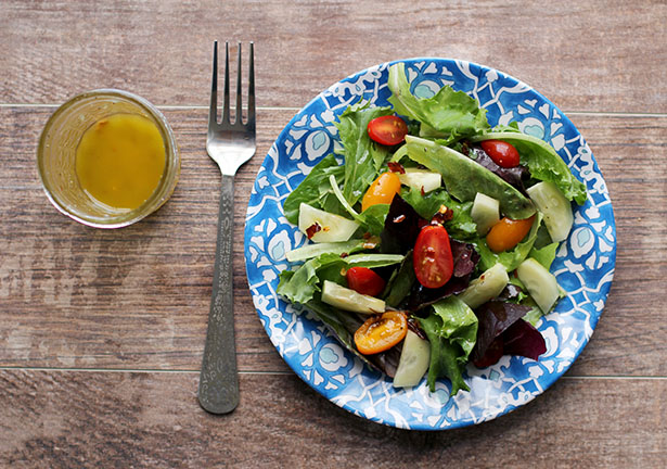 Sweet & Zesty MacGyver No-Sodium Vinaigrette | Low-So Good | @janemaynard
