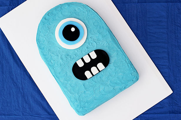 Simple Monster Birthday Cake and Party How-To
