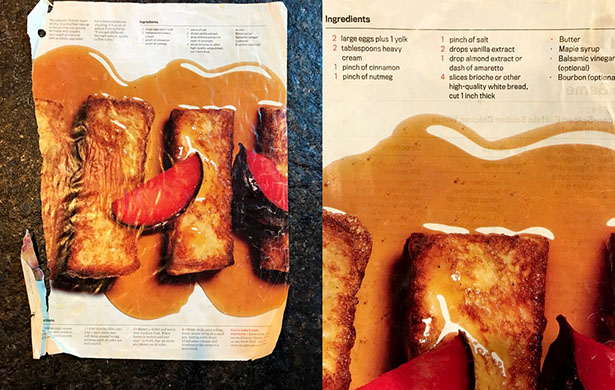 Nicole Blades' Favorite French Toast recipe
