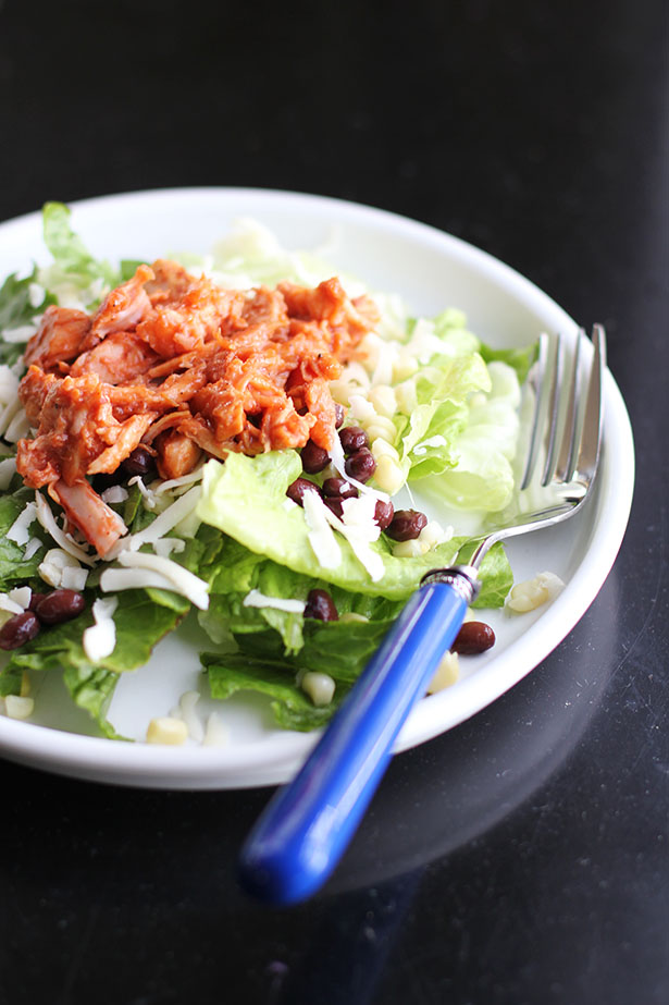 Barbecue Chicken Salad Recipe from @janemaynard