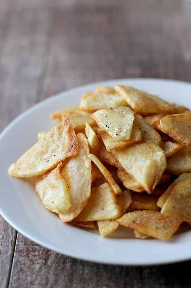 French Chips Recipe (aka French fries that look like chips!) from @janemaynard