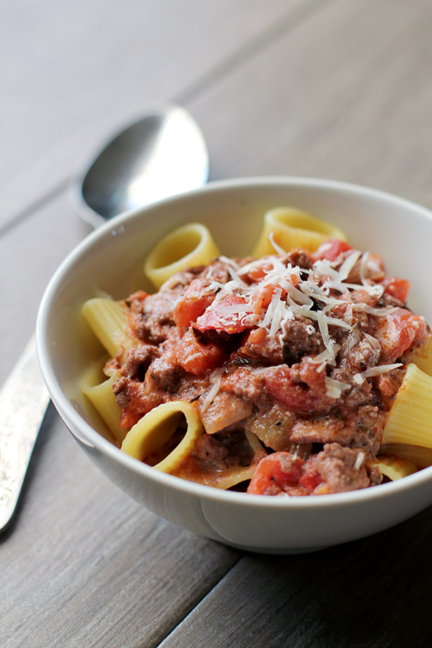 Incredibly Flavorful Homemade Bolognese Recipe from @janemaynard