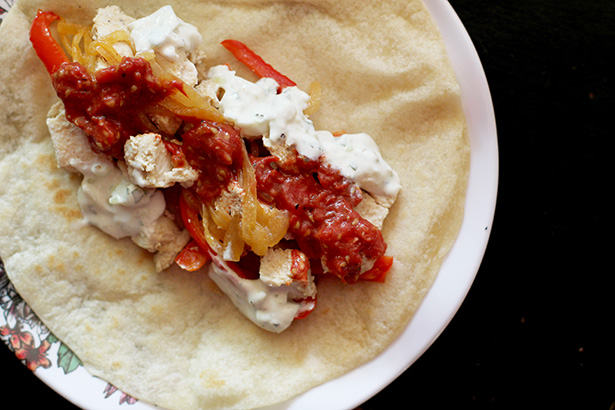 Masala Salsa, perfect for Indian tacos and burritos, from @janemaynard
