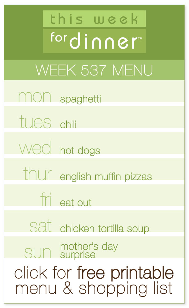 Week 537 Weekly Menu from @janemaynard including FREE printable pdf with dinner plan and ingredients list!