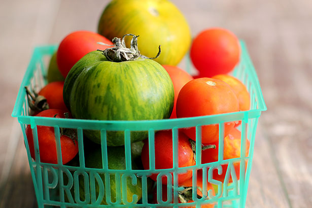 Local Tomatoes from Cyclops Farms | Photo from @janemaynard