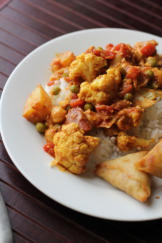 Vegetarian Curry in a Hurry from @janemaynard