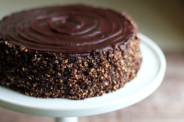 Chocolate Ganache Praline Cake, a.k.a. The Viking Lite from @janemaynard