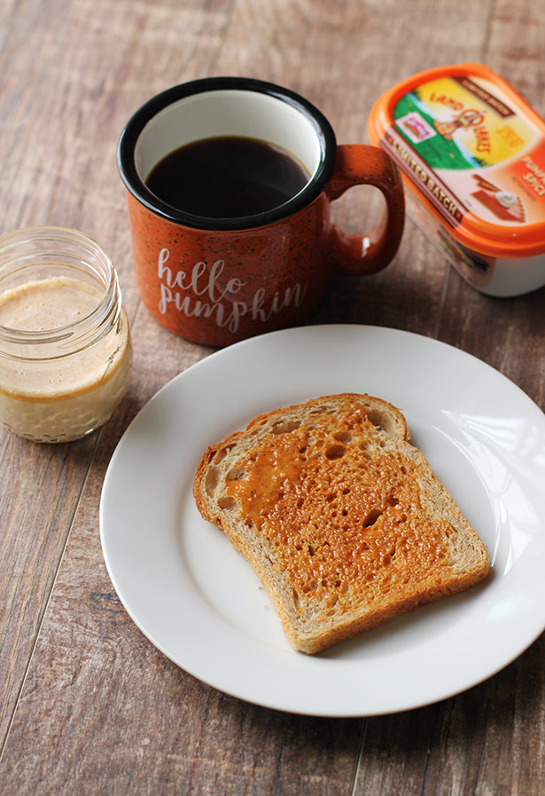 Pumpkin Spice Coffee Creamer Recipe from LAND O LAKES and @janemaynard