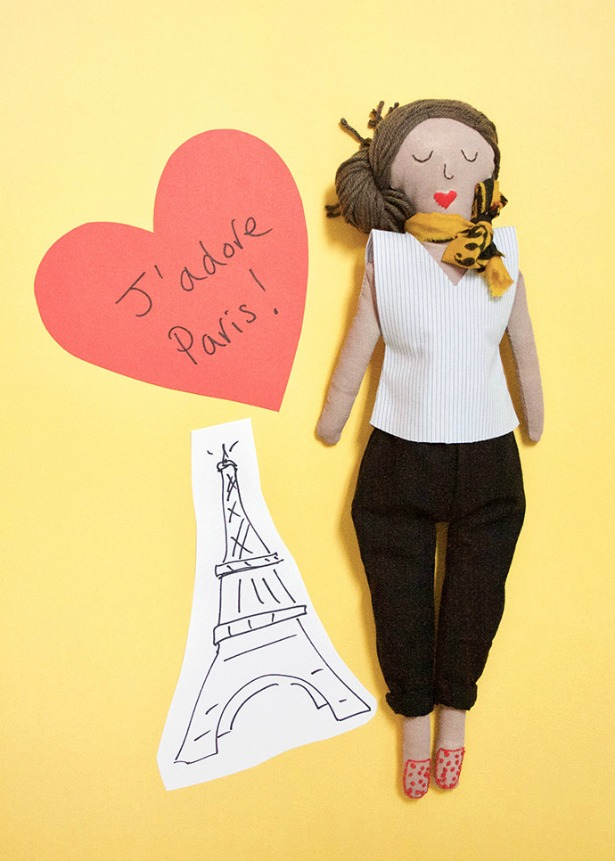 Week 560 Weekly Menu on @janemaynard from Rachel Faucett: DIY Paris Doll
