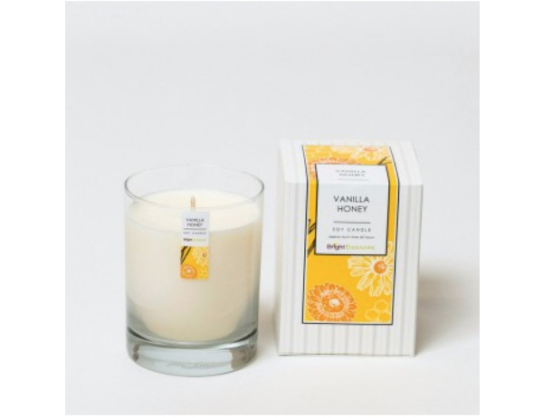 Gifts That Give Back: To The Market's Honey Vanilla Candle