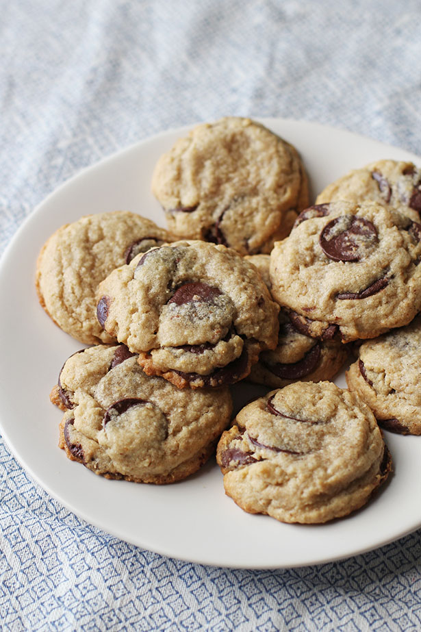 Blended Oatmeal Chocolate Chip Cookies from @janemaynard