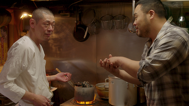 "This Week for Dinner Show and Tell: The Yakitori scene in episode 5 of Netflix's ""Ugly Delicious"" is beautiful"