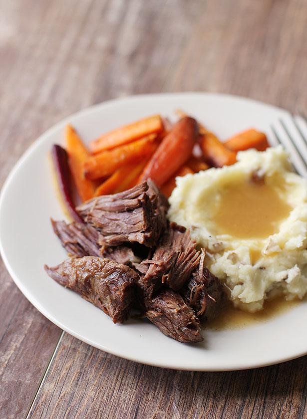 Pressure cooker pot roast, my new favorite way to make pot roast!