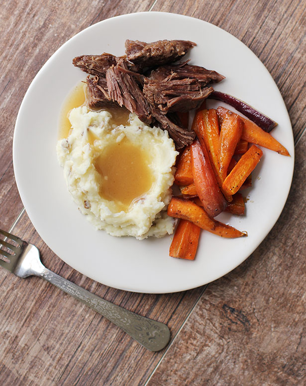 Recipe for pressure cooker pot roast