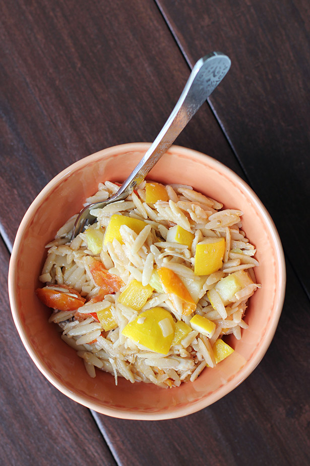 Kitchen Sink Orzo Bowls, a comforting, nutritious and delicious go-to dinner recipe