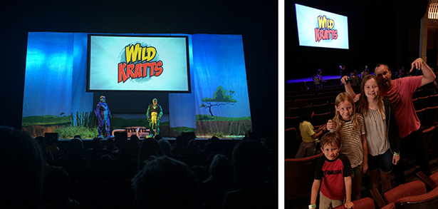 Wild Kratts Live Show with the Family