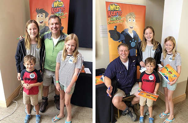Meeting Chris & Martin at Wild Kratts Live