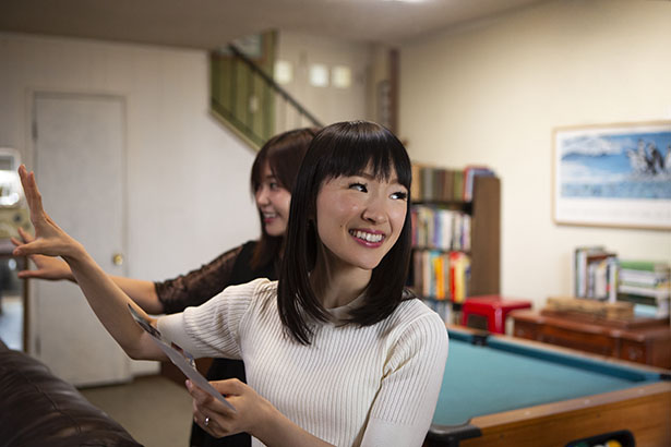 "Photo of Marie Kondo from Netflix's new show ""Tidying Up"" 