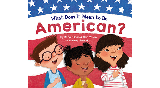 "Cover of ""What Does it Mean to Be American?"""