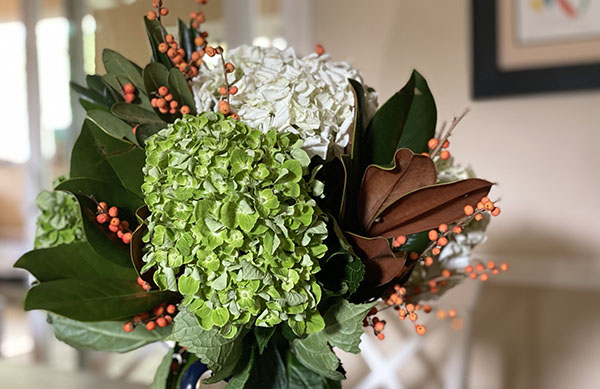 This Week for Dinner Thanksgiving Bouquet